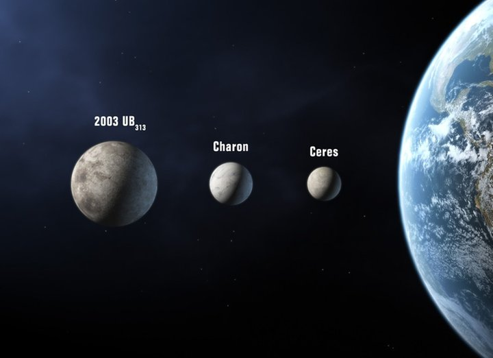 Ceres ist der grösste Asteroid unseres Sonnensystems und besteht, wie vermutet wurde, offenbar zu einem Grossteil aus Wassereis. © picture-alliance/ dpa/IAU Martin Kommesser