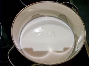 Grießbrei-Milch