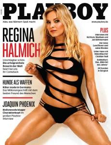 Playboy Deutschland 03/2015 Regina Halmich
