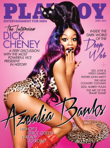 Playboy USA 04/2015 Azealia Banks