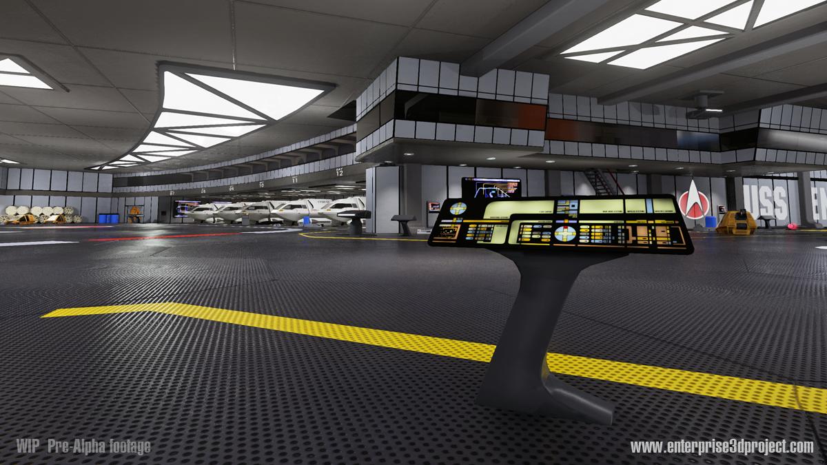 Bild: enterprise-d 3d project