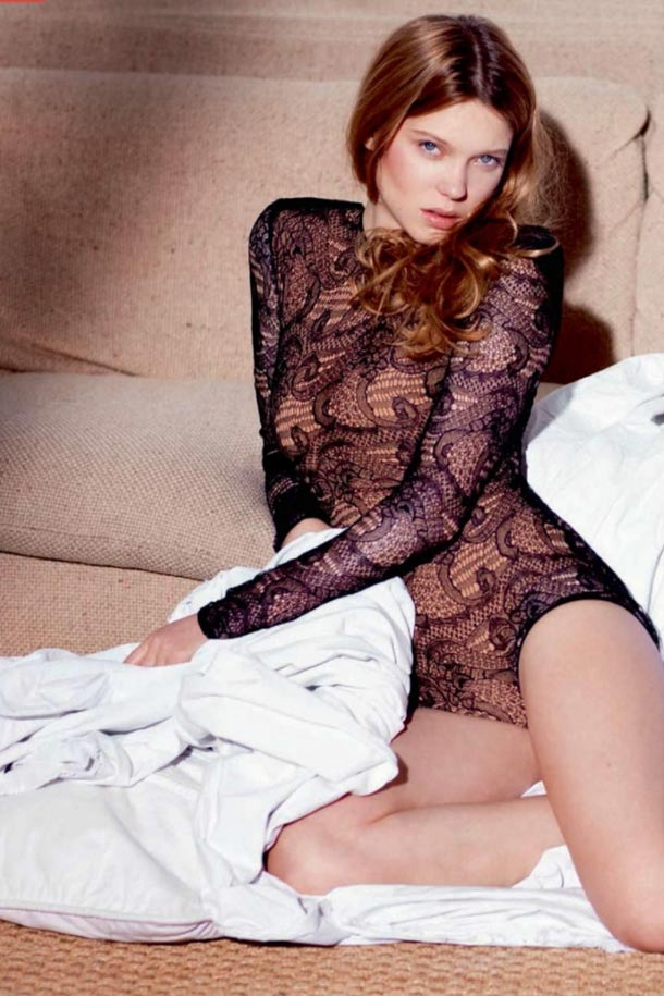Lea Seydoux Erotismo a la Francesa